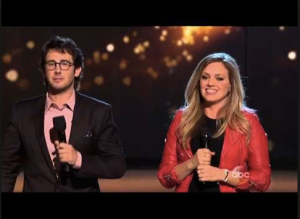 Josh Groban Sonnet Simmons ABC Rising Star