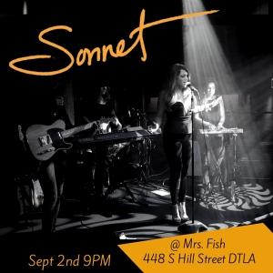 Flyer Mrs Fish Sonnet Simmons