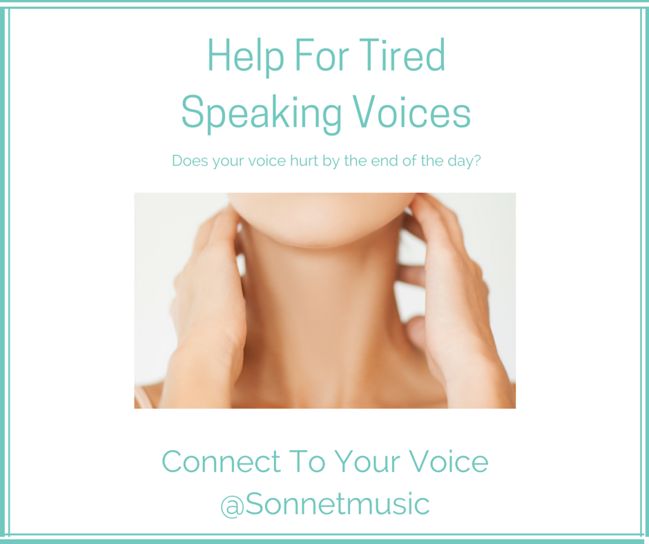 Help for Tired Voices